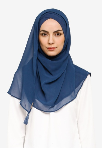 Bokitta blue Blueberry Instant Hijab 7C69DAA7A297F2GS_1