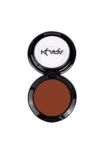 KLARA COSMETICS brown Matte Eyeshadow #33 - Saddle Brown E304CBE0CF3EB3GS_1