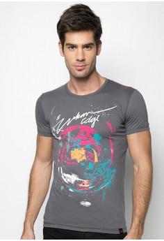 Round Neck Graphic T-Shirt