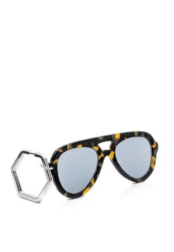 HEX EYEWEAR multi and brown HEXETATE Eyewear Accessories|Sunglasses Key Chain|Glasses Key Chain 87DE8AC8649B27GS_1