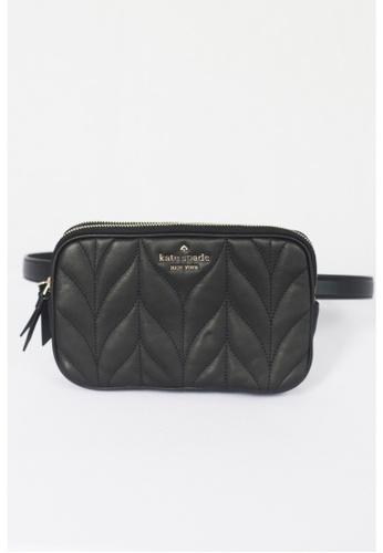 Kate Spade black Kate Spade Briar Lane Quilted Double Zip Belt Bag WKRU6162 In Black A2B96ACCDD4A83GS_1