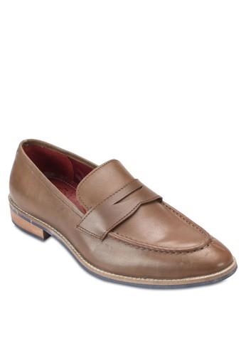 便士esprit地址皮革樂福鞋, 鞋, 鞋
