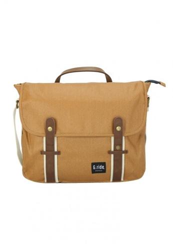 G.ride beige Betty Messenger Bag GR478AC0GKTLSG_1