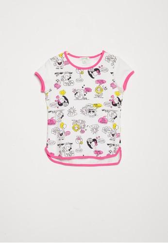 Bossini pink Bossini Kids Girl T-Shirt Lt Fuchsia (84081905039) 621DCKAE27B5CBGS_1