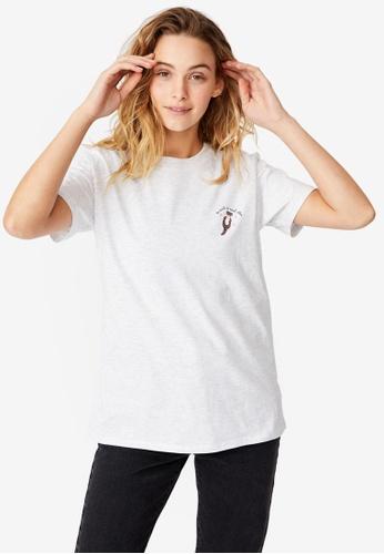 Cotton On silver Classic Arts T Shirt 560B5AA9E9CA56GS_1
