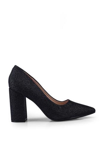 Noveni black Glitter Heels D67D2SH5ED6955GS_1