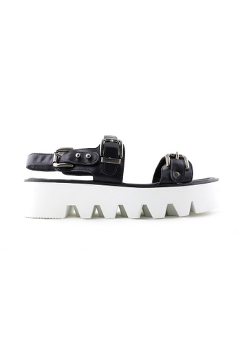 Te Chi-Chi black Chunky Platform Strappy Shoes TE125SH07XBKMY_1