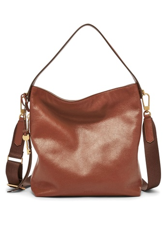 Buy Fossil Fossil Maya Brown Shoulder Bag ZB6979201 Online on ZALORA ...