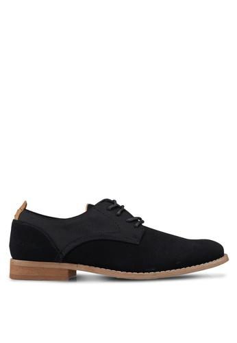 Call It Spring black Eowan Lace Up Shoes 3C80CSH8DC327DGS_1