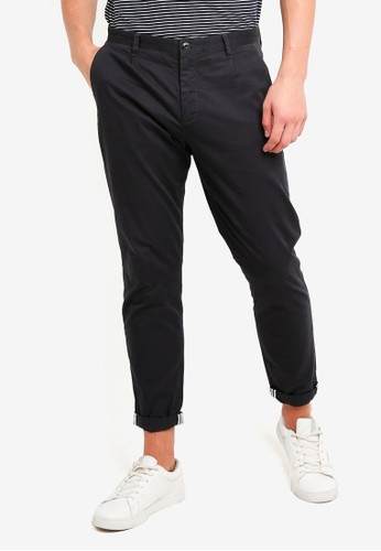 ESPRIT grey Woven Cropped Pants 1C116AA17F260CGS_1