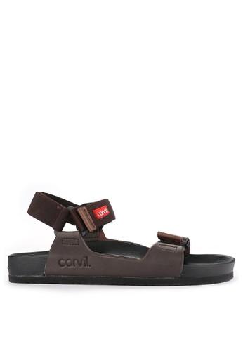 CARVIL brown Sandal Casual Men Toronto-03M 67A53SHA6D7D84GS_1