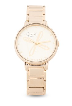 Chloe Stainless Steel Strap Analog Watch