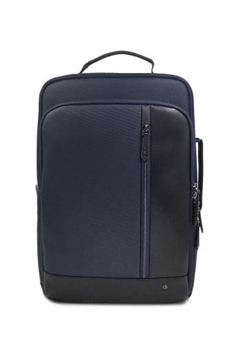 Goldlion navy RFID Traveler Backpack (Navy) F78F3AC9ECA453GS_1