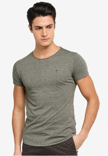 Tommy Jeans green TJM BASIC CN KNIT S/S 25 50239AA33973E6GS_1