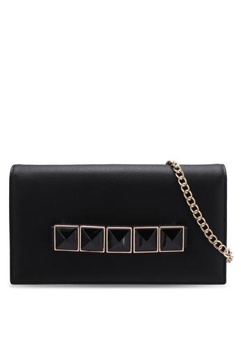 ZALORA black Metal Detail Long Wallet E4D33ZZ993B287GS_1