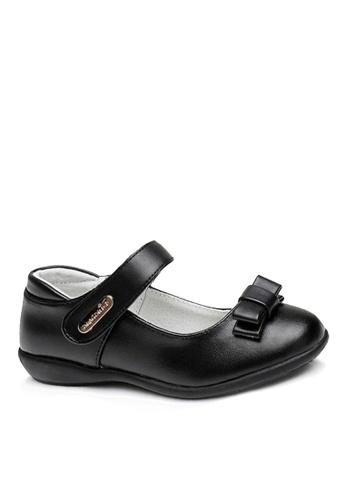 Twenty Eight Shoes 黑色 VANSA 真皮學生鞋   VSK-D8803 B8CC1KS86B0C02GS_1
