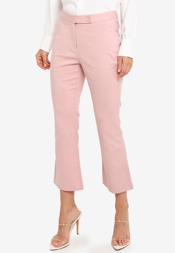 G2000 pink Boot Leg Double Weave Pants 58C9DAA07E3573GS_1