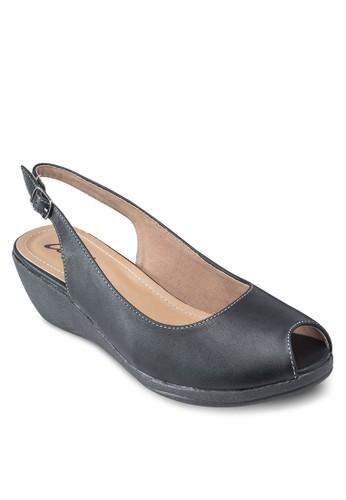 露趾繞踝楔型跟涼鞋, 韓系時esprit童裝門市尚, 梳妝