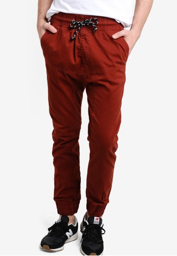 Factorie red The Jett Pants FA880AA83KFGMY_1