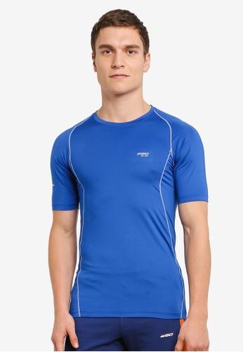 2GO 藍色 Performance 短袖 T卹 2G729AA0S603MY_1