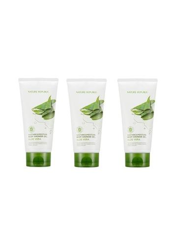 NATURE REPUBLIC Bundle 3 - Soothing & Moisture Aloe Vera Shower Gel150ml 0E68CBE5018DA8GS_1