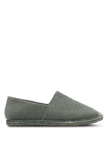 ZALORA grey Milange Espadrilles B6198SH32A9027GS_1