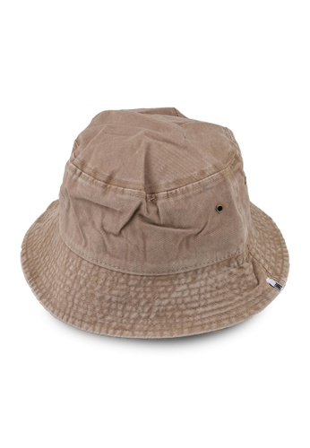 Milliot & Co. beige Trinidad Bucket Hat B1055AC1BBFE07GS_1