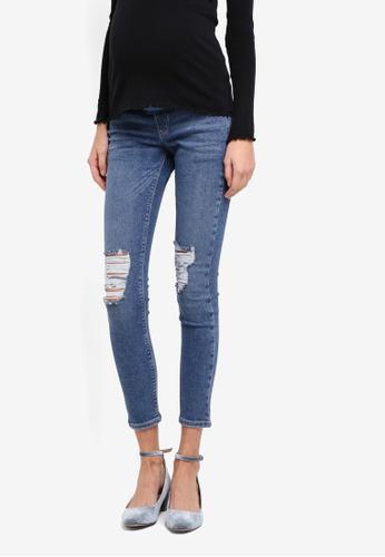 9636b92bb07ff Buy TOPSHOP Maternity Rip Jamie Jeans   ZALORA HK