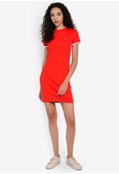 f194ff20682 24% OFF Jack Wills Goodrington Side Stripe Ringer Dress S$ 78.90 NOW S$  59.90 Sizes 4 6 8 10 12