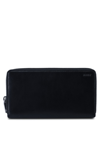 Bally black Tallen Wallet (oc) C48F1ACC16E11AGS_1