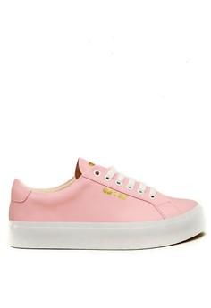 harga CDE Ceremonial Men Sneaker Pink Zalora.co.id