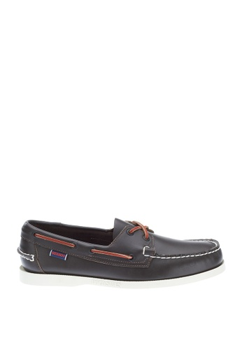 Sebago red Mens Docksides Boat Shoes SE328SH0J4YCPH_1