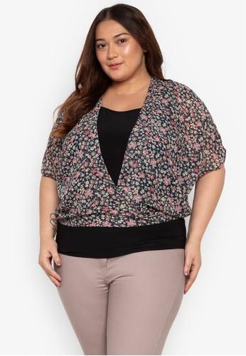 fd27fcceb2680 Shop Audrey Plus Size Diana Blouse Online on ZALORA Philippines
