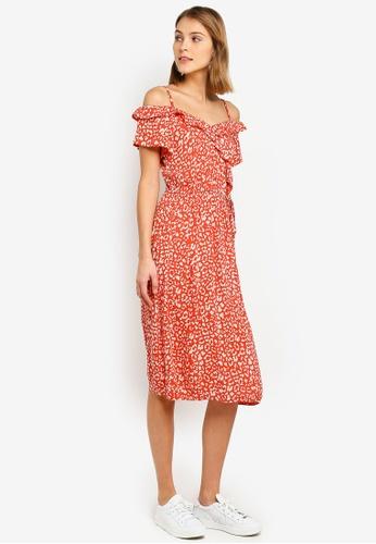d46dd82d5ae746 Buy Dorothy Perkins Leopard Print Wrap Dress Online on ZALORA Singapore