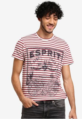 ESPRIT red Short Sleeve T-Shirt 9D8D7AAD7703FEGS_1