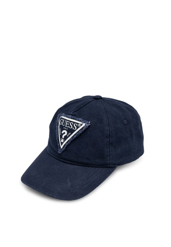Guess blue Used Triangle Cap FE7FCACEC6C4B4GS_1