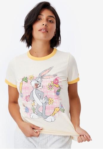 Cotton On Body multi Ringer Sleep T-Shirt 5EC82AAEF4103DGS_1