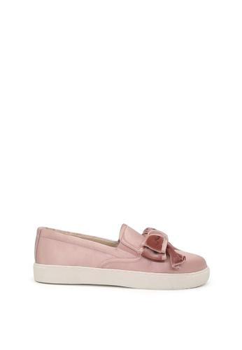 London Rag 粉紅色 London Rag 女士无鞋带粉色休闲鞋 SH1419 58E3CSHDA060CEGS_1