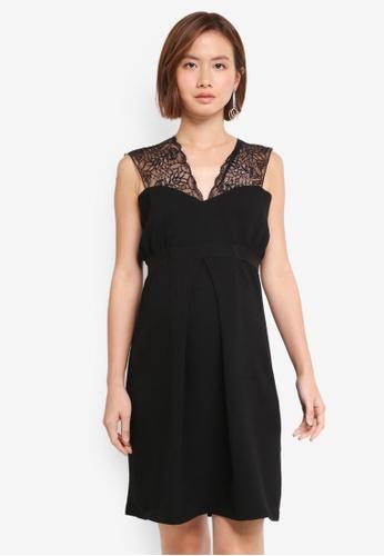 Envie De Fraise black Maternity Cassandre Dress AF2C2AA422A0EAGS_1
