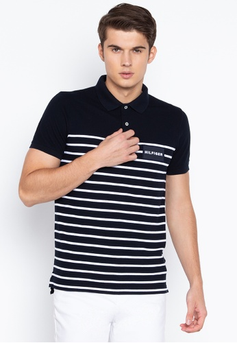 447ad393 Shop Tommy Hilfiger Eng Breton Stripe Slim Polo Shirt Online on ZALORA  Philippines