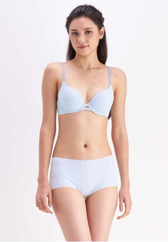 Her Own Words green Soft Touch Bra 061A3US245E67EGS_1