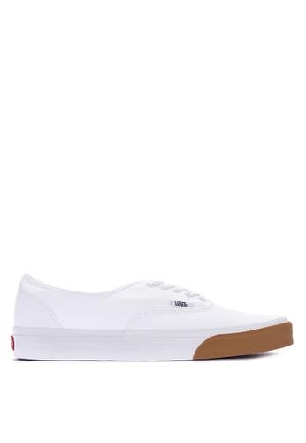 Vans white Authentic Lace-up Sneakers D0E7DSHE5CBF8BGS_1