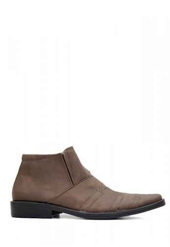D-Island brown D-Island Shoes Slip On Office Mens High Brown 65B3BSH57E0BEEGS_1