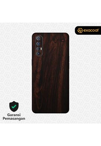 Exacoat Oppo Reno 3 Pro Skins Wood Series - Wood Mahogany 8DD30ES21CC57FGS_1