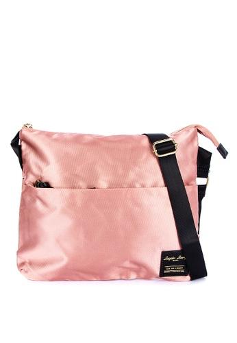 Legato Largo pink Water Repellent Shoulder Bag 63DA2AC1267C3EGS_1