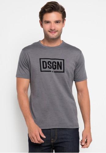 D&F grey T-Shirt Dsgn DF100AA0URA1ID_1