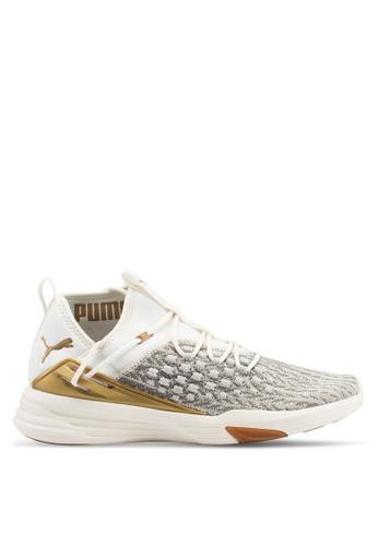 Puma white Mantra Fusefit Desert Training Shoes A89E4SHBC04983GS_1