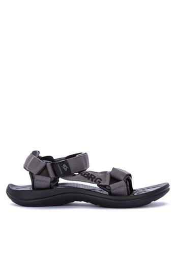 Krooberg black Roam Sandals & Flip Flops 5B161SHCC21205GS_1