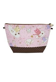 Purse Bag - Pink Cat