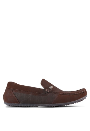 Louis Cuppers brown Casual Loafers LO977SH0S9RYMY_1